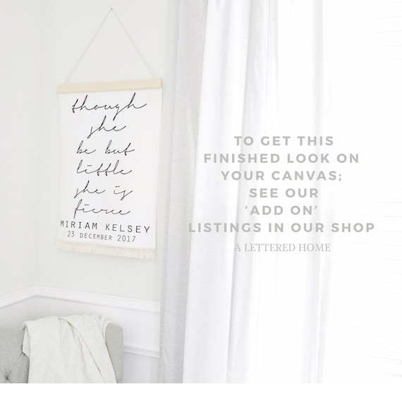 classroom home d\u00e9cor sign minimalist farmhouse design Ready to Frame look well to this day flat canvas wall art inspirational