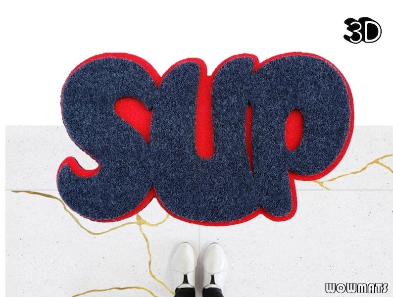 SUP Doormat / 3D doormat / Funny Welcome Mat / SUP / Front image 0