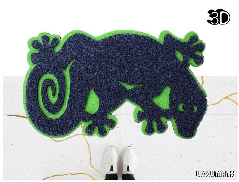 Lizard Doormat / 3D doormat / Funny Welcome Mat / Lizard / image 0