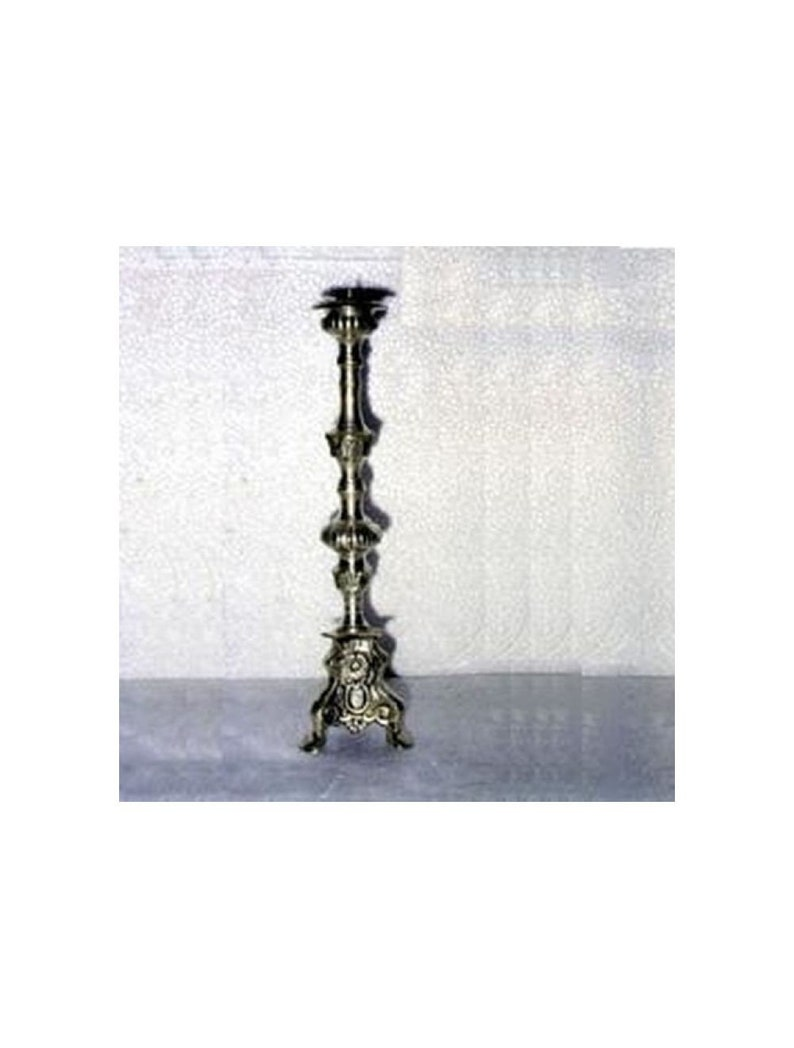 17.55 Candle Holder Antique Silver