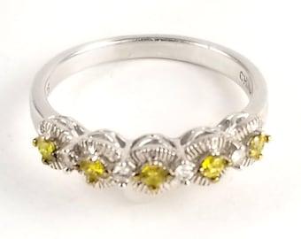 Affinity Jewels Elegant Dainty Adjustable Ring