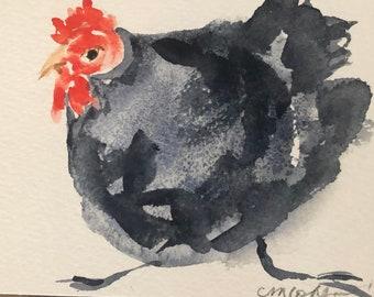 Dancing Chickens, Christina Cohen Art