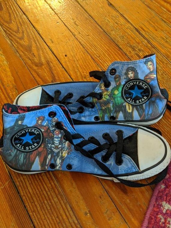 Converse DC Comics Justice League Chuck