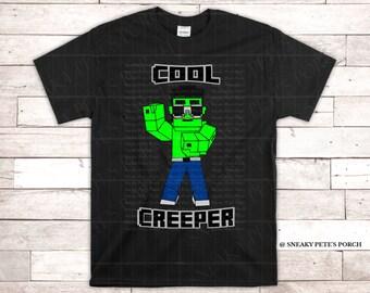Minecraft Creeper Svg Etsy