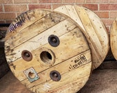Wooden Cable Drum Reel Ideal For Coffee Patio Table, Pot, Child Play Table, Seat, Bookshelf, Wall Clock, Display Table, Cat Post PLAIN XS