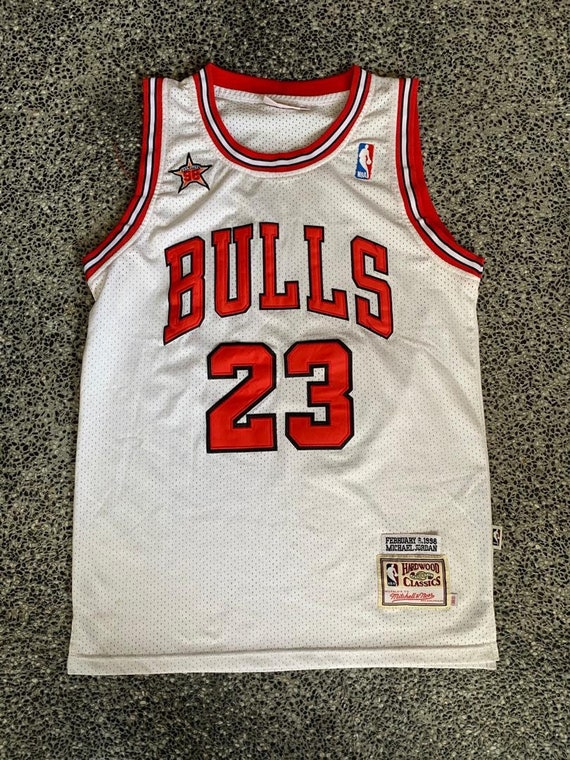 Vintage Michael Jordan jersey anniversary 1998