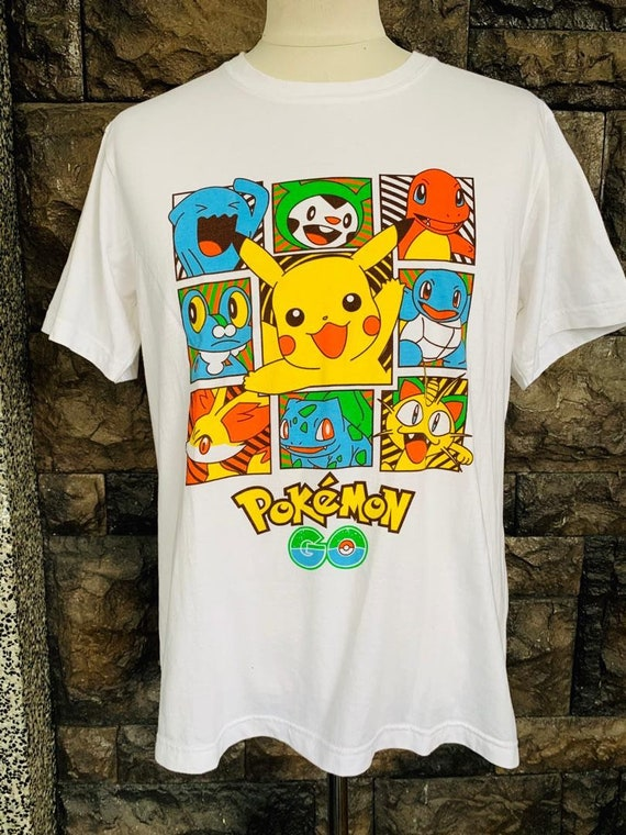 Vintage Pokemon cartoon tshirt