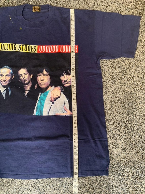 Vintage 90s Rolling Stones Voodoo Lounge Tour t s… - image 10