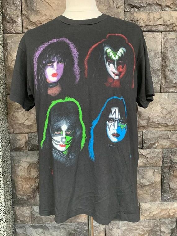 Vintage 90s KISS band tshirt