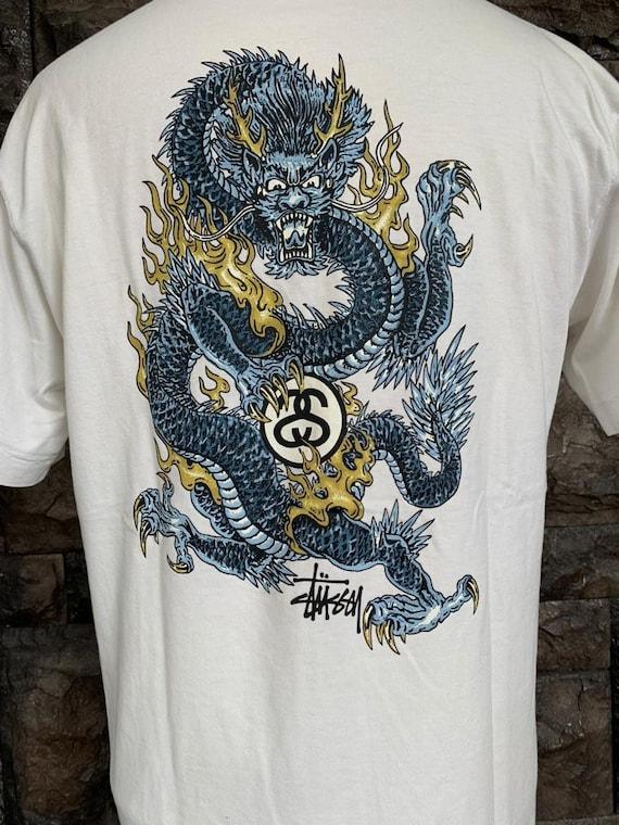 Stussy Vintage Dragon streetwear t shirt