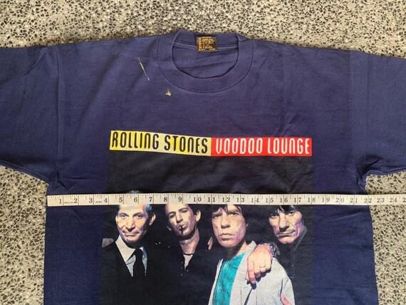 Vintage 90s Rolling Stones Voodoo Lounge Tour t s… - image 9