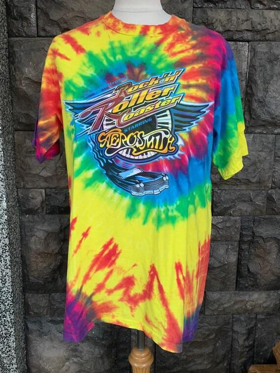 Aerosmith  Rock The World Disney | Vintage Tie Dye