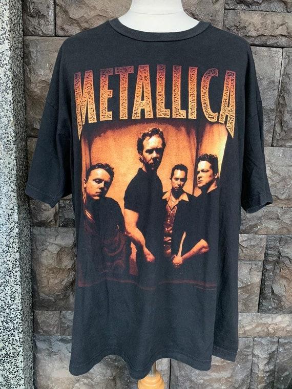 Vintage Metallica Concert tshirt 1998 North Americ