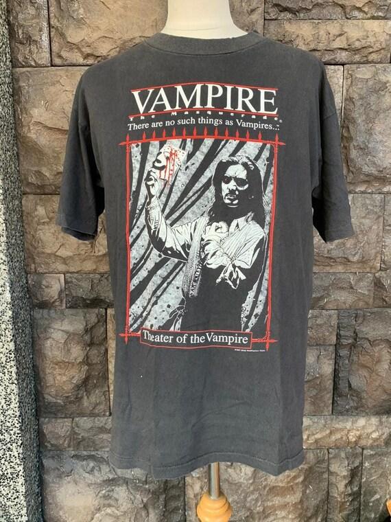Vintage Vampire Theater of vampire tshirt