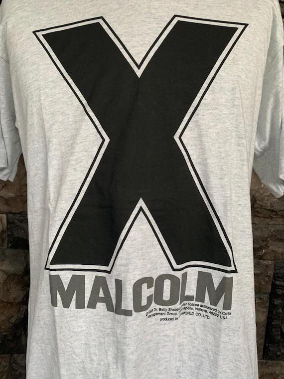 Vintage Malcom X tshirt