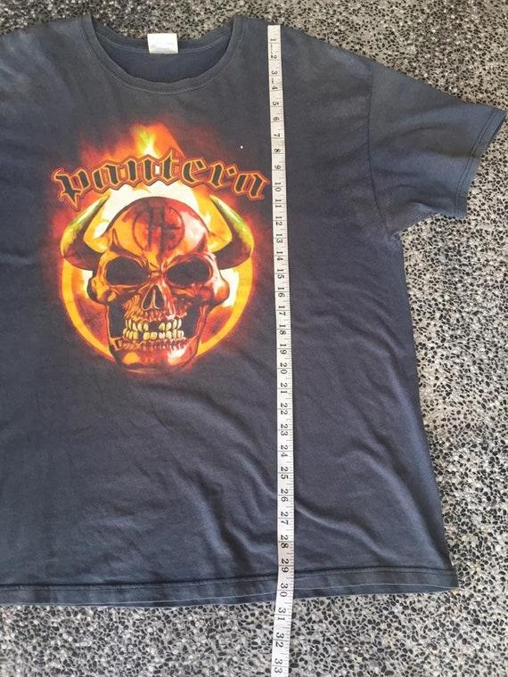 Vintage early 2000 Pantera Band  tshirt - image 7
