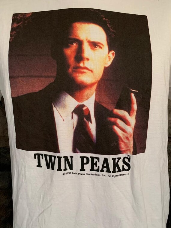 Vintage 90s Twin Peaks Special  Agents  Dale Coope