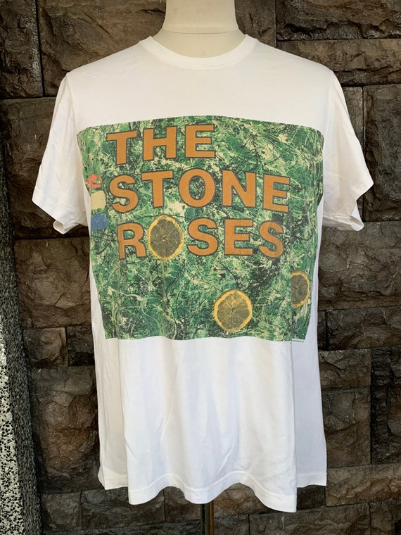 Vintage 90s The Stone Roses Britpop Band Tshirt