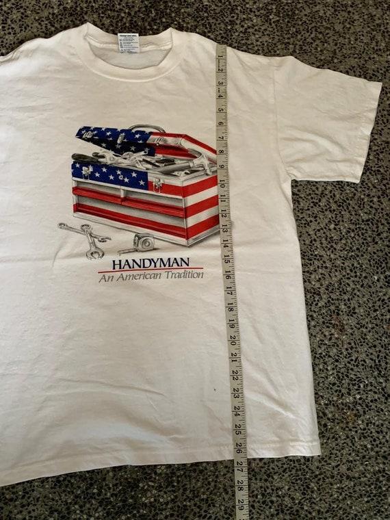 Vintage Handyman An American Tradition tshirt - image 5