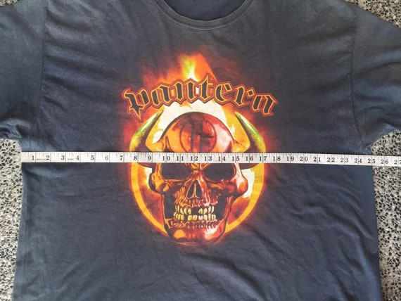 Vintage early 2000 Pantera Band  tshirt - image 6