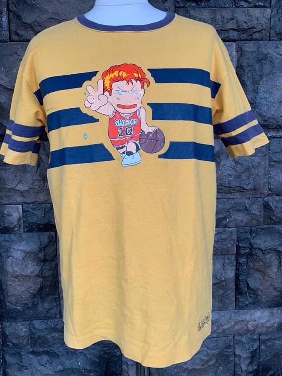 Vintage shohoku Slamdunk anime tshirt