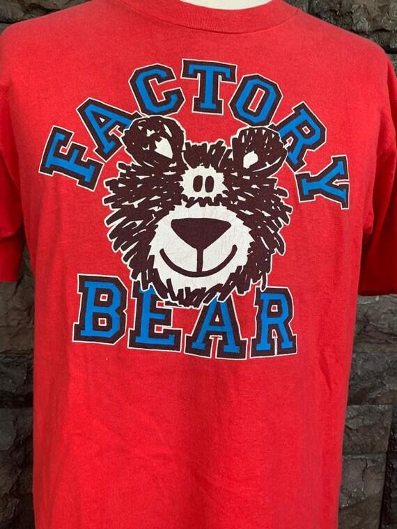 Vintage Factory Bear T-Shirt