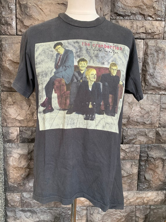 Vintage 90's The Cranberries 'no need to argue' wo