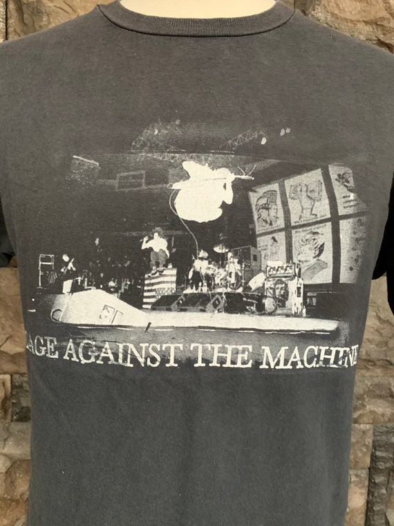 Vintage Rage Against The Machine T Shirt by Giant