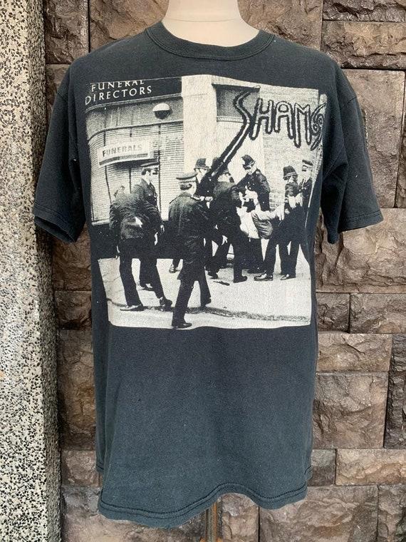"""Vintage 90s Sham 69 """"Funeral Directors""""/ 90s Punk"""