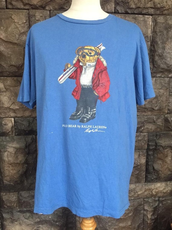 Vintage  90s Polo bear by Ralph Lauren tshirt