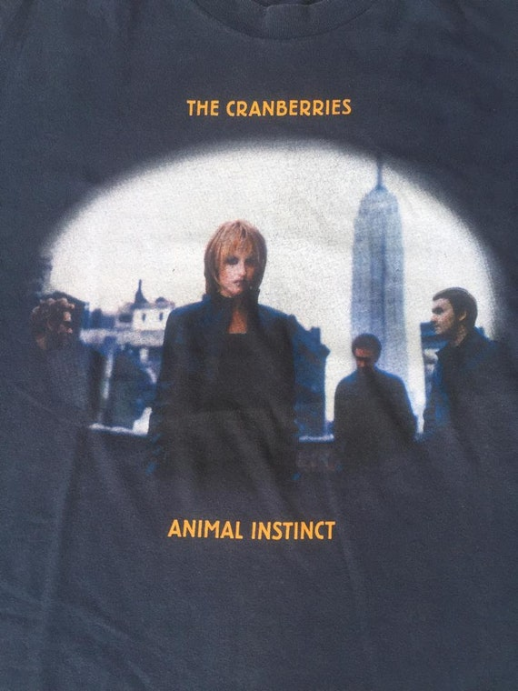 "Vintage  The Cranberries ""Animal Instinct "" World… - image 4"