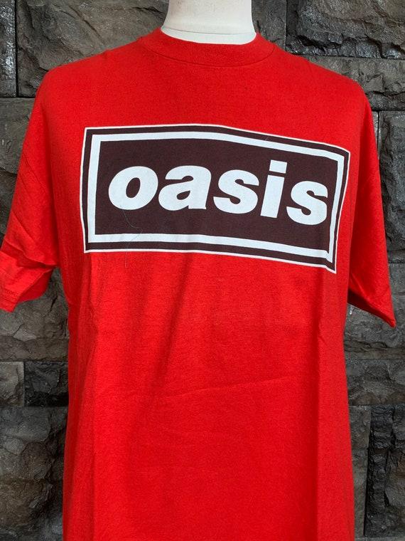Vintage 90s OASIS band Tshirt