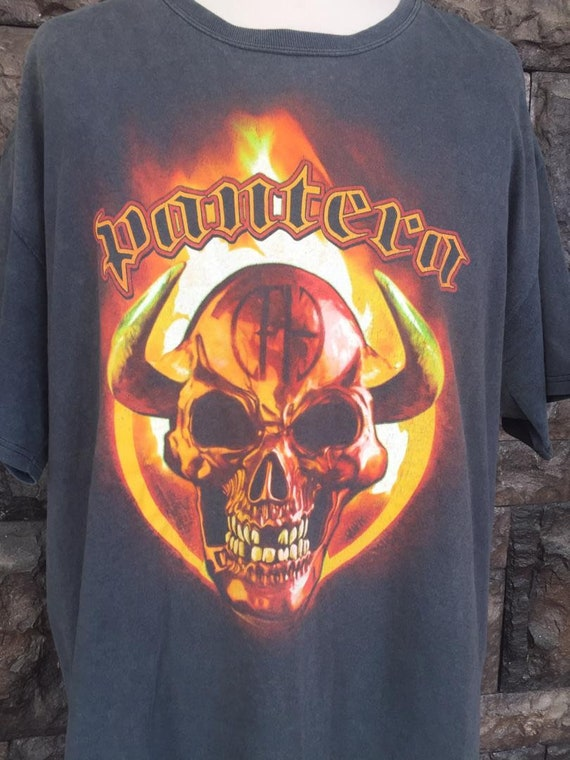 Vintage early 2000 Pantera Band  tshirt - image 4