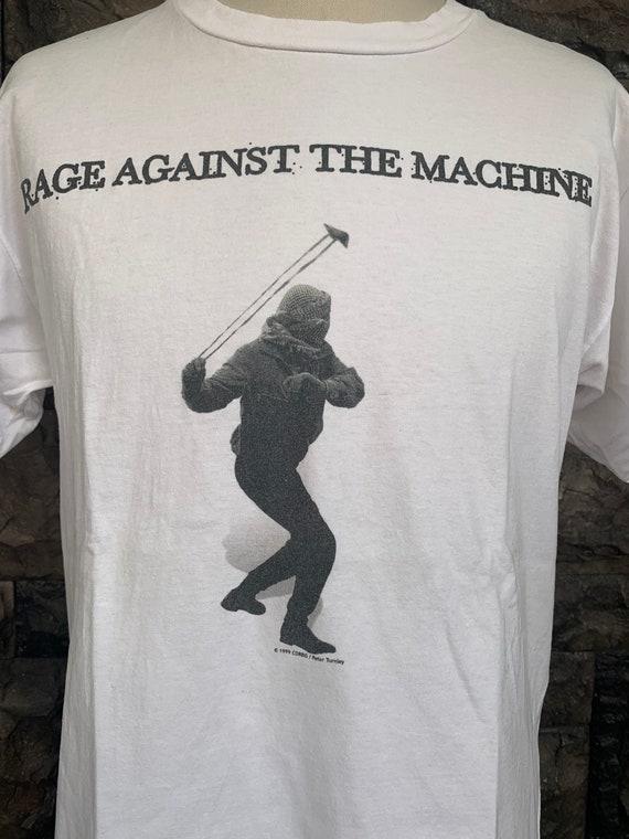 Vintage 90s Rage Against The Machine T Shirt