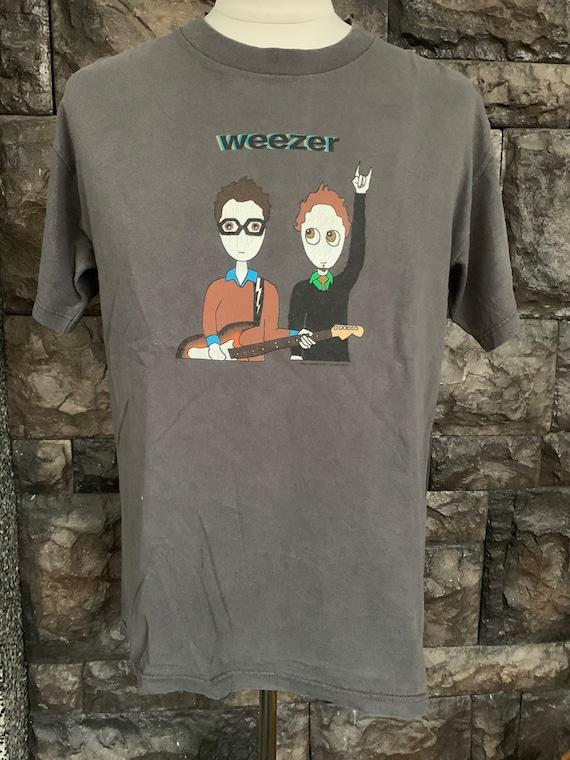Vintage Weezer Band shirt / american rock / indie