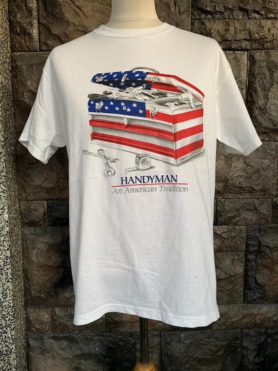 Vintage Handyman An American Tradition tshirt - image 2