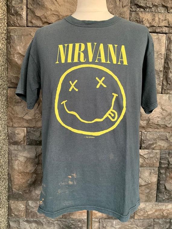 Vintage 90s Nirvana Tshirt