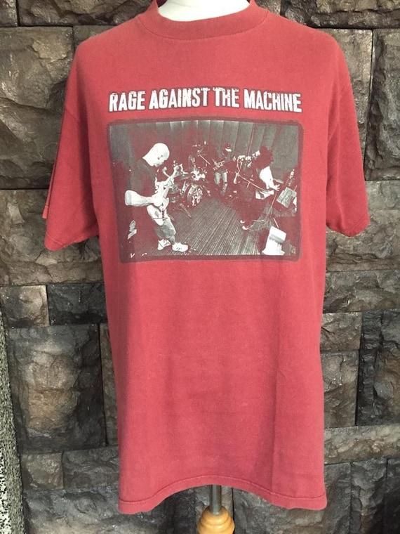 Vintage Rare!! Rage against the  machine tshirt