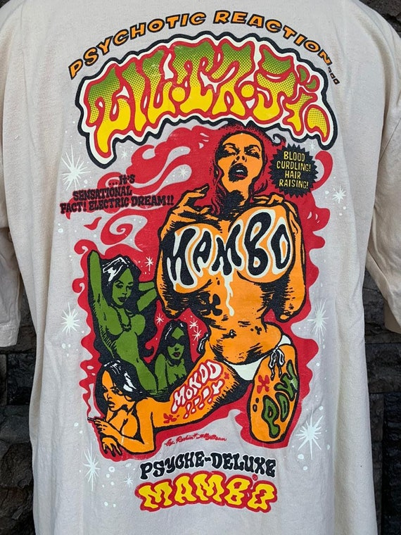 Vintage Mambo Psychotic Reaction tshirt