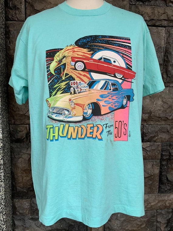 Vintage 90s thunder of the 50s tshirt