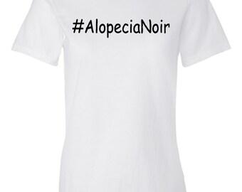 Alopecia Noir Women's White T-shirt