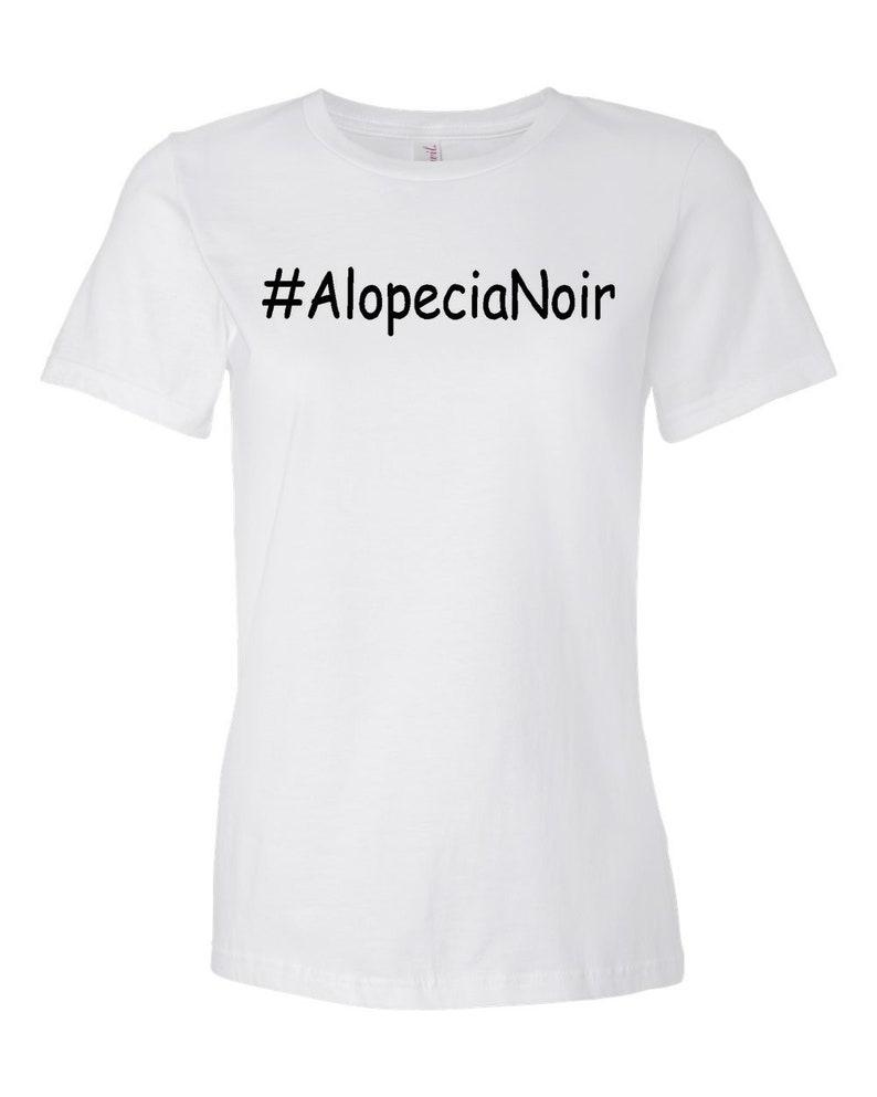 Alopecia Noir Women's White T-shirt White