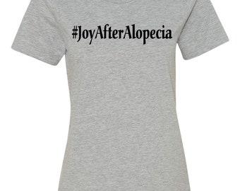 Joy After Alopecia Women's Grey T-shirt
