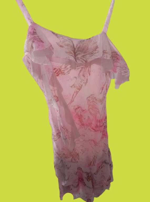 Pink Brillant Tank Dress M