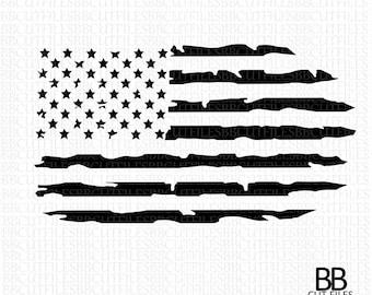 Usa Flag Svg Etsy