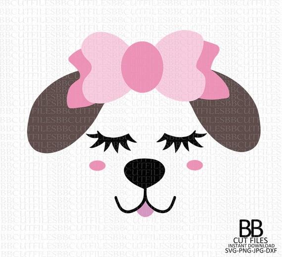 Dxf Cricut Cut Dog Svg Puppy Shirt Design Puppy Cut Files Jpg Animal Svg Puppy Head Svg Png Puppy Svg Puppy Face Svg Silhouette