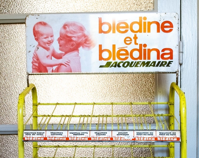 "Store display ""Blédine and Blédina"" from the 60s"