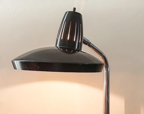 Fase lamp black FARO model - 70s
