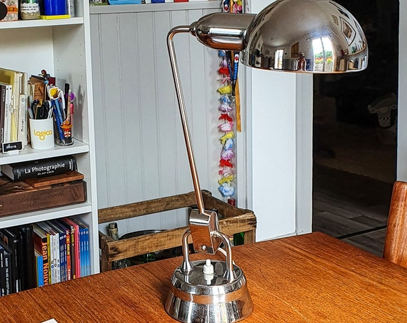JuMO 600 French chrome lamp, 1940-1950