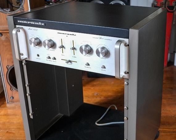 Ampli Marantz 1072 with its rack - 70s